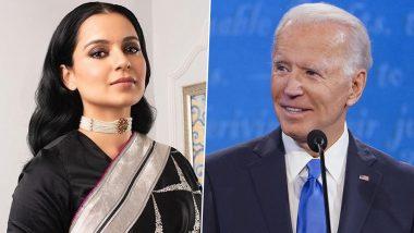 Kangana Ranaut Trolls Joe Biden: कंगना रनौत ने अमेरिका के नए राष्ट्रपति जो बाइडेन को कहा 'गजनी', लिखा- एक साल भी नहीं टिक पाओगे!