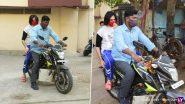 Kartik Aaryan Photos: जिम से निकले कार्तिक आर्यन को बाइक पर बिठाकर घर ले गए उनके बॉडीगार्ड, नए लुक में सामने आई ये फोटोज