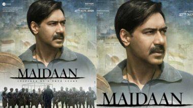 Ajay Devgn वेलेंटाइन्स डे पर शुरू करेंगे फिल्म 'Maidaan' का अंतिम शेड्यूल