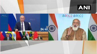 BRICS Summit 2020: पीएम मोदी ने ब्रिक्स देशों से कहा, आतंकवाद के मददगार देशों को जिम्मेदार ठहराएं