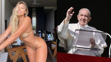 Natalia Garibotto: पोप फ्रांसिस ने किया ब्राजीलियन मॉडल नतालिया गैरीबोटो की हॉट फोटो को लाइक? सोशल मीडिया पर मचा बवाल