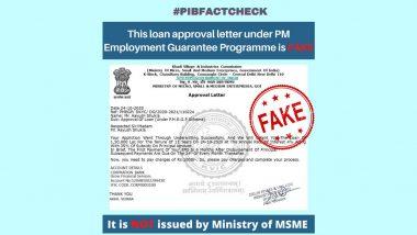 Fact Check: क्या MSME मंत्रालय लोन देने के लिए प्रोसेसिंग फीस के रूप में मांग रहा है 1000 रुपये, PIB फैक्ट चेक से जानें सच