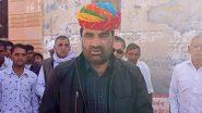 सांसद  हनुमान बेनीवाल ने कहा कृषि कानून वापस नहीं तो एनडीए छोड़ने पर विचार किया जा सकता है