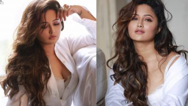Rashami Desai Hot Photoshoot: एक्ट्रेस रश्मि देसाई ने शर्ट की बटन खोलकर कराया बेहद हॉट फोटोशूट, बोल्ड तस्वीरें कर देगी हैरान