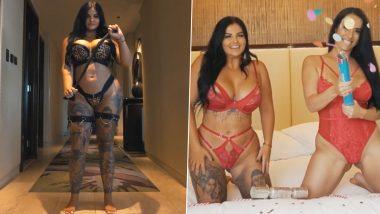 XXX Pornstar Renee Gracie Video: पोर्नस्टार रेनी ग्रेसी के Onlyfans पर पूरे हुए 1 साल, सेक्सी एक्ट्रेस ने हॉट वीडियो में दिखाया बोल्ड अवतार