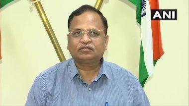 Lockdown Again In Delhi? कोरोना संकट के बीच दिल्ली में लॉकडाउन की खबरों को स्वास्थ मंत्री सत्येंद्र जैन ने किया खारिज, कहा-यहां इसकी कोई जरूरत नहीं