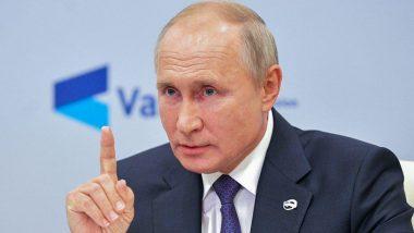 Russia: गंभीर बीमारी से जूझ रहे राष्ट्रपति व्लादिमीर पुतिन जनवरी 2021 में दे सकते हैं पद से इस्तीफा