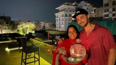 Karwa Chauth 2020: अर्पिता खान ने मनाया करवा चौथ का त्योहार, पति आयुष शर्मा संग शेयर की तस्वीरें