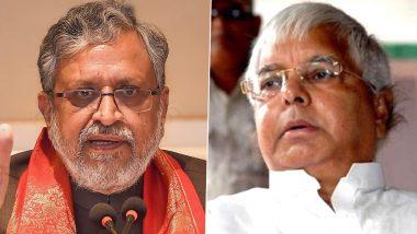 Bihar: सुशील मोदी का बड़ा आरोप, कहा- जेल से लालू यादव रच रहे सरकार गिराने की साजिश, NDA विधायकों को कर रहे हैं फोन