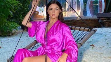 Demi Rose Topless Photos: अमेरिका की सुपरमॉडल डेमी रोज ने ट्रांसपेरेंट ड्रेस पहन मचाई सनसनी, हॉट तस्वीरें कर देंगी शर्म से लाल