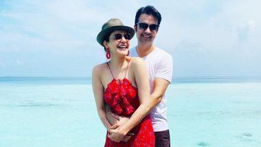 Kajal Aggarwal and Gautam Kitchlu's Honeymoon Photos: शादी के बाद मालदीव में हनीमून मनाने पहुंची काजल अग्रवाल, देखें तस्वीरें