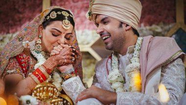 Kajal Aggarwal Wedding Photo: काजल अग्रवाल ने गौतम किचलू संग रचाई शादी, फोटो शेयर कर लिखी दिल की बात