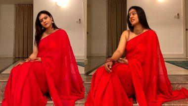 Karwa Chauth 2020: काजोल ने करवा चौथ के मौके पर दिखाया अपना मस्ती भरा अंदाज, लिखा- अगर खाना नहीं मिला तो