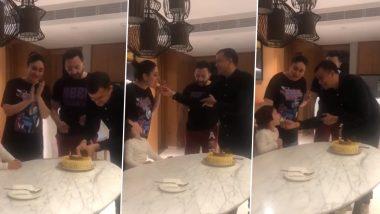 Video: सैफ अली खान और करीना कपूर के साथ बेटे तैमूर अली खान ने गाया बर्थडे सॉन्ग,फैंस भी हुए सरप्राइज्ड