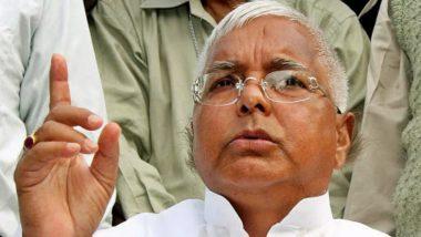 RJD प्रमुख  लालू यादव की हालत गंभीर, एयर एंबुलेंस से पहुंचे दिल्ली, AIIMS में होगा इलाज