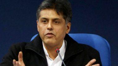 मनीष तिवारी को बनाया जा सकता है पंजाब कांग्रेस का अध्यक्ष, पार्टी में नाम सबसे आगे