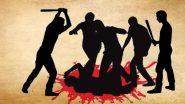 UP: नेता और गुंडों ने सब्जी विक्रेता को बेरहमी से पिटा, सिर मुंडवाकर, मुंह काला कर, चप्पलों की माला पहनाकर निकाली परेड