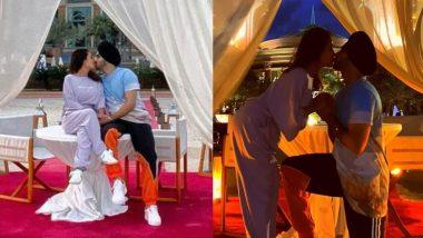 Neha Kakkar और Rohanpreet Singh हनीमून पर हुए रोमांटिक, कपल ने Kiss करते हुए शेयर की ये Photos!