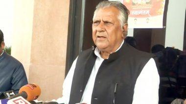 Rajasthan: मंत्री भंवरलाल मेघवाल का गुरुग्राम में निधन, सीएम अशोक गहलोत ने जताया दुःख, राजकीय शोक की घोषणा