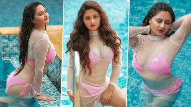 Rashami Desai Hot Photos: टीवी एक्ट्रेस रश्मि देसाई ने स्विमिंग पूल में शेयर की हॉट बिकिनी फोटोज, सेक्सी अवतार से मचाया कोहराम