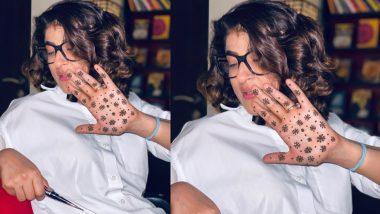 Karwa Chauth 2020: आयुष्मान खुराना की बीवी ताहिरा कश्यप ने हाथ पर लगाईं मेहंदी, कोरोना वायरस संग जुड़ गया कनेक्शन