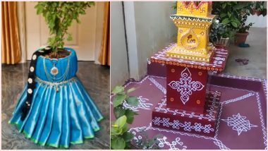 Tulsi Vivah 2020: How to decorate a basil pot for a Tulsi-Shaligram wedding, see easy and traditional ways of decoration