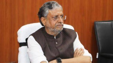 Rajya Sabha By-Election: बीजेपी ने पूर्व डिप्टी सीएम सुशील कुमार मोदी को दिया बिहार से राज्यसभा का टिकट