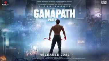 Ganapath Poster: बागी के बाद अब गणपत बनने जा रहे हैं टाइगर श्रॉफ, फिल्म का दमदार मोशन पोस्टर आया सामने