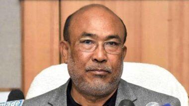 CM N. Biren Singh Tests Positive For COVID-19: मणिपुर के सीएम एन. बीरेन सिंह पाए गए कोरोना पॉजिटिव,  ट्वीट कर दी जानकारी