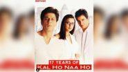 17 Years of Kal Ho Naa Ho: शाहरुख खान स्टारर 'कल हो ना हो' के पूरे हुए 17 साल, प्रीती जिंटा ने Video शेयर कर हिट फिल्म को किया याद