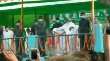 Bihar Assembly Elections 2020: बिहार के मधुबनी में रैली के दौरान नीतीश कुमार पर फेंके गए प्याज, CM बोलें- और फेंको,