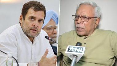 Bihar: RJD नेता शिवानंद तिवारी ने महागठबंधन की हार का ठीकरा कांग्रेस पर फोड़ा, कहा- बिहार में चुनाव अपने चरम पर था और राहुल गांधी शिमला में पिकनिक मना रहे थे