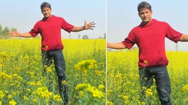 Sidharth Shukla ने खेत में खड़े होकर शाहरुख खान का सिग्नेचर पोज देने की कोशिश की