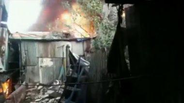 Mumbai Fire Breaks Out at Khadi Godown: कुर्ला में सर्वोदय होटल के पास खादी नंबर 3 गोदाम में लगी आग, फायर टेंडर मौके पर मौजूद