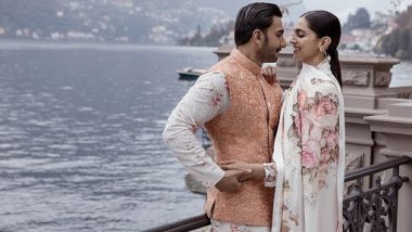 Ranveer Singh ने शादी की सालगिरह पर दीपिका पादुकोण के लिए लिखा प्यार भरा संदेश, कहा- मेरी गुडिया