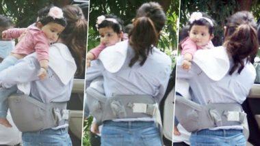 Shilpa Shetty की बेटी समीशा की पहली तस्वीर आई सामने, पैपराजी के सामने बेटी को छिपाती दिखी एक्ट्रेस