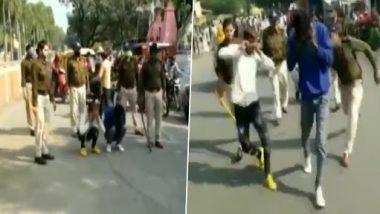 Madhya Pradesh: सड़कों पर महिलाओं से छेड़खानी करने वाले मनचलों को पुलिस ने ऐसे सिखाया सबक, देखें वीडियो