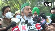 Farmers Protest: किसान नेता राकेश टिकैत ने कहा-जब तक सरकार से बात नहीं होगी आंदोलन नहीं खत्म होगा