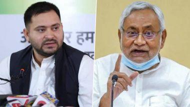Tejashwi Yadav Attacks Bihar Govt: बिहार में बढ़ते अपराध को लेकर तेजस्वी यादव का सीएम पर निशाना, कहा-नीतीश सरकार पूरी तरह से फेल नजर आ रही है