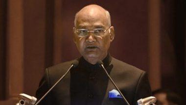 राष्ट्रपति रामनाथ कोविंद ने कहा, सीएजी की सलाह को गंभीरता से लें राज्य