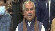 कृषि मंत्री नरेंद्र सिंह तोमर का बड़ा आरोप, कहा- किसान आंदोलन को बनाए रखना चाहती है कोई ताकत