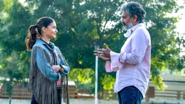 Alia Bhatt ने फिल्म 'RRR' की शूटिंग की शुरू, अजय देवगन, रामचरण और जूनियर NTR आएंगे नजर