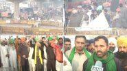 Farmers Protest: कृषि बिल के खिलाफ दिल्ली-नोएडा बॉर्डर पर डटे हुए हैं किसान, बोले-सरकार बार-बार तारीख दे रही है, आज बातचीत का आखिरी दिन