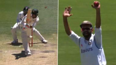 IND vs AUS 2nd Test: एक ही गेंद में दो बार DRS से बचे मिशेल स्टार्क, देखें वीडियो