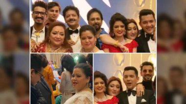 Aditya Narayan, Shweta Agarwal Wedding Reception Photos: गोविंदा से लेकर भारती सिंह तक ये सेलेब्स पहुंचे बधाई देने, देखिए रिसेप्शन की खास तस्वीरें