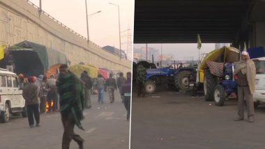 Farmers Protest: कृषि कानूनों के विरोध में  जींद में सैकड़ो ट्रैक्टर के साथ किसानों ने किया शक्ति प्रदर्शन