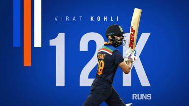 Ind vs Aus 3rd ODI 2020: विराट कोहली ने रचा इतिहास, 12 हजार रन बनाने वाले भारत के बनें दुसरे खिलाड़ी