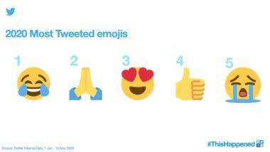 2020 Most Tweeted Emojis: जॉय ऑफ टीयर्स से प्रेयिंग तक ये इमोजिस ट्विटर इंडिया पर सबसे ज्यादा हुए इस्तेमाल, जारी की लिस्ट