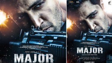 Major First Look Out: महेश बाबू ने शहीद मेजर संदीप उन्नीकृष्णन की बायोपिक फिल्म का फर्स्ट लुक किया रिलीज
