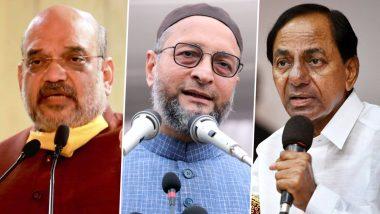 GHMC Election Results 2020: हैदराबाद निगम चुनाव के रुझान में बड़ा उलटफेर, TRS निकली सबसे आगे- BJP दूसरे AIMIM तीसरे नंबर पर